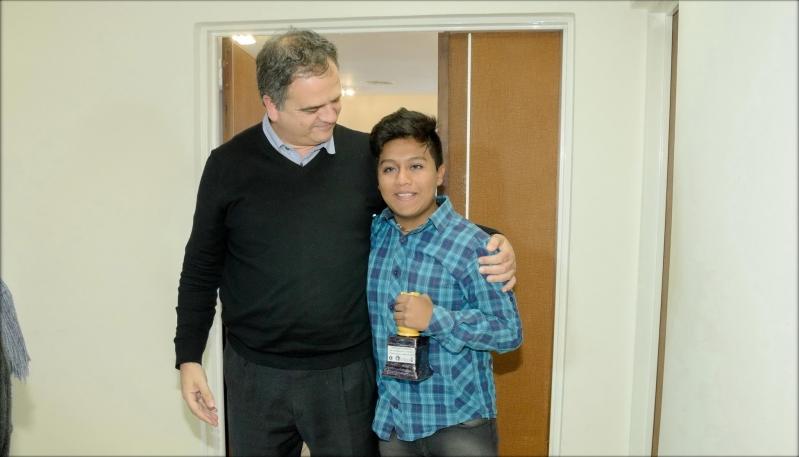 Pablo Acosta, el joven talento de la ULP  que hace historia en el ajedrez argentino