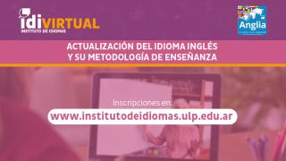 Ya está disponible la inscripción al curso para actualización del idioma inglés y su metodología de enseñanza