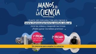"""El 3 de julio comienza el concurso """"Manos a la Ciencia"""""""