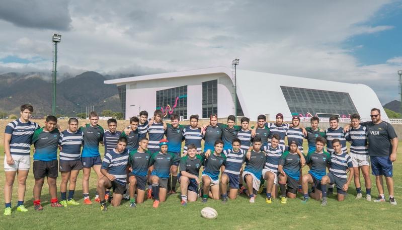 El seleccionado M17 de Rugby de San Luis potencia su preparación