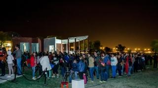 Luna Azul: Vení a disfrutar del cielo de San Luis en el Parque Astronómico