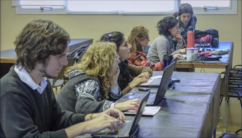 Arte digital: un nuevo recurso tecnológico en las aulas puntanas
