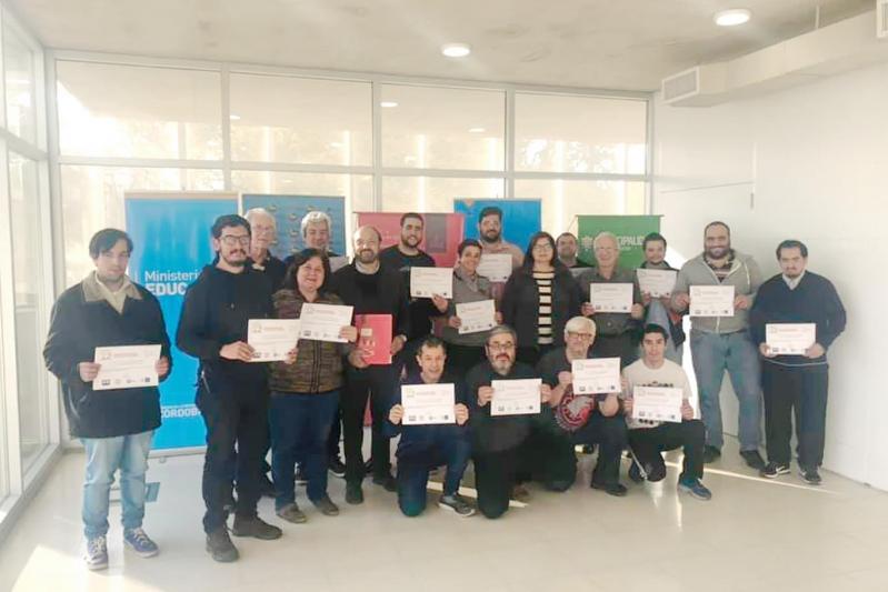 Cuatro instructores de ajedrez de la ULP se capacitaron en organización de torneos internacionales
