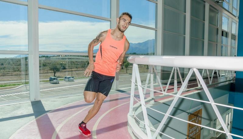 Leandro Paris y Nicolás Páez representarán al Campus de la ULP en el Argentino de Atletismo