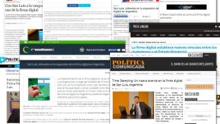 Firma Digital sanluiseña, el exitoso modelo del que habla el país