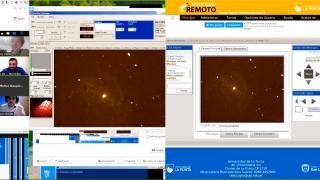 Aficionados de la astronomía mantuvieron una reunión con el equipo del PALP