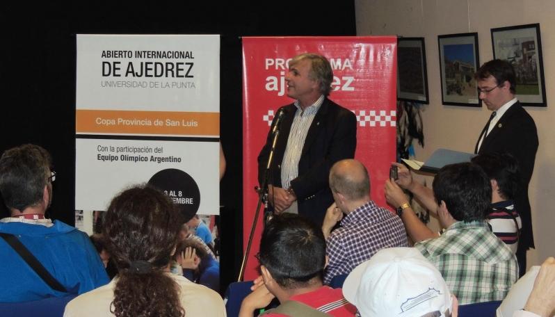 """Federación Argentina de Ajedrez: """"Es un orgullo que  San Luis apueste a un torneo de esta categoría"""""""