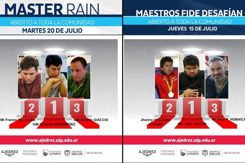 Durante julio 750 ajedrecistas le dieron brillo a distintos torneos