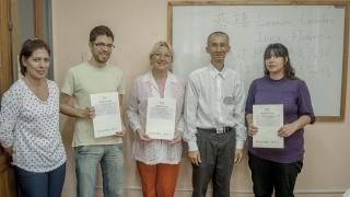 Estudiantes del Instituto de Idiomas dieron cátedra de Chino en un examen internacional