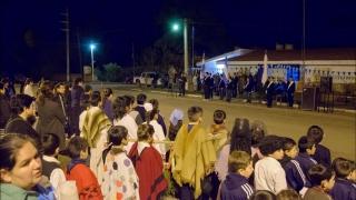 Alumnos de Leandro N. Alem protagonistas de un gran festejo patrio