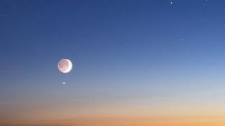 """Este jueves la Luna y Venus compartirán un """"saludo celestial"""""""