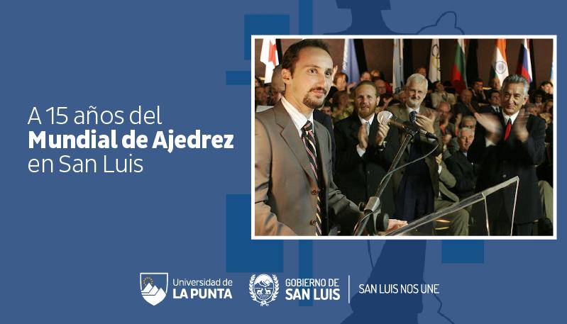 A quince años del Mundial de Ajedrez, un evento que quedó marcado en la historia de San Luis y del mundo