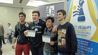 Pablo Acosta, entre los 10 mejores del Mundial de Ajedrez  de la Juventud