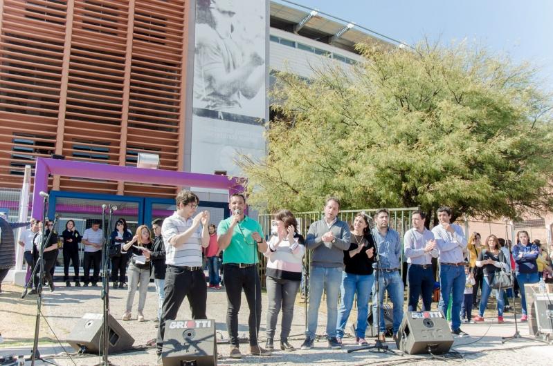 Las actividades de la ULP se sumaron a los festejos del 2º Aniversario del Plan Solidario