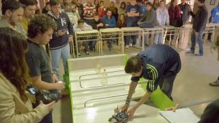 Los robots se ponen a punto para la final provincial de la RoboCup 2015