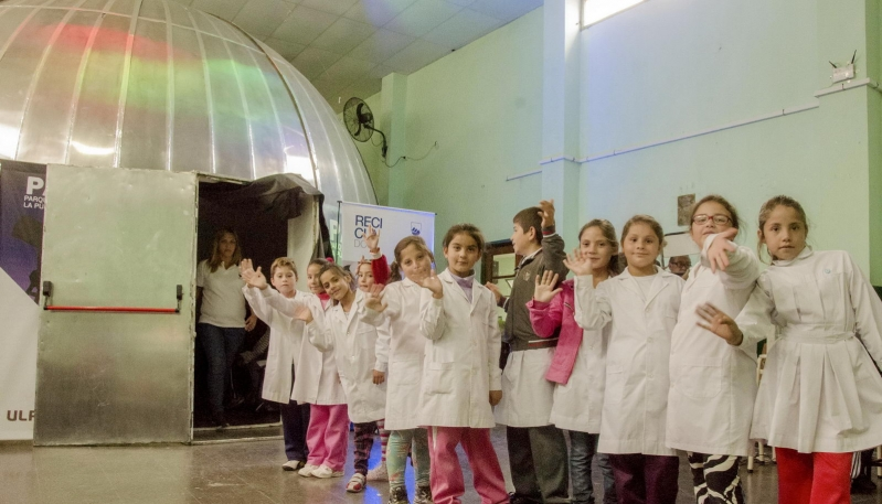 Una semana a pura astronomía en Santa Rosa del Conlara