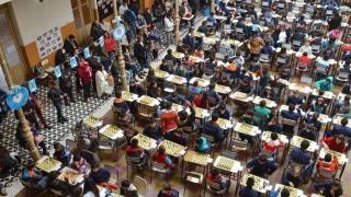 Con más de 350 chicos jugando al ajedrez comenzaron los Intercolegiales de la Puntanidad