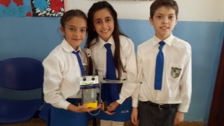 Alumnos del Cristo Rey expondrán su robot medioambiental en la final nacional