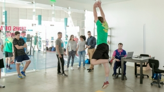 Jugadores de handball del club ASEBA fueron evaluados en el Campus
