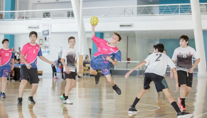 Los equipos de handball Sub 14 del Campus debutaron en el Provincial con éxito