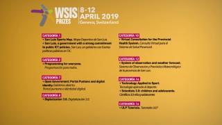 10 iniciativas del Gobierno de la Provincia fueron nominadas a los premios WSIS 2019