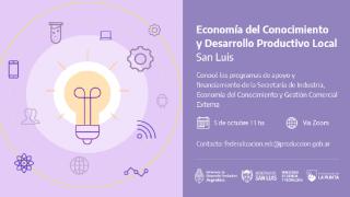 """Se llevará a cabo el encuentro """"Economía del Conocimiento, Industria y Desarrollo Productivo Local"""""""