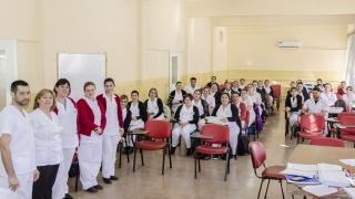 Alumnos de la Licenciatura en Enfermería rindieron exámenes en el Policlínico Regional San Luis y el Hospital de Villa Mercedes