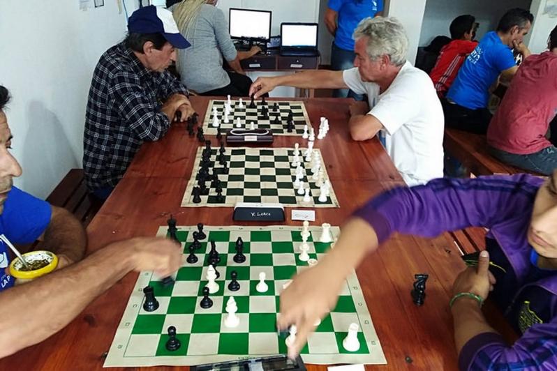 Merlo fue sede de un torneo de ajedrez de verano