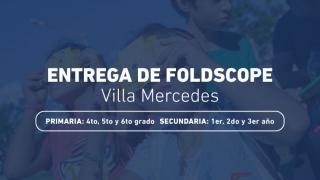 Alumnos de 37 escuelas de Villa Mercedes recibirán sus foldscopes