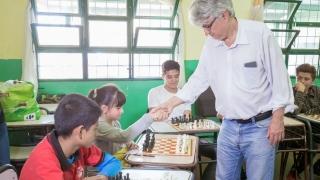 """""""El proyecto de ajedrez en San Luis es distinto, eso motivó mi visita"""""""