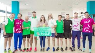 Atletas de La Tropa pasaron por el laboratorio de biomecánica del Campus