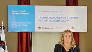 Los alcances de la firma digital sanluiseña fueron presentados en Jujuy