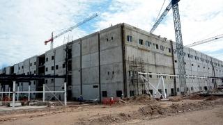 """La imponente obra del Hospital Central """"Ramón Carrillo"""" ya tiene más de un 50% de avance"""