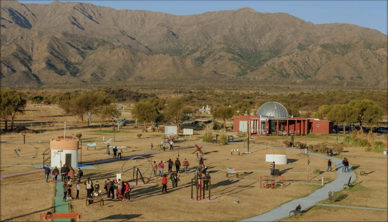 El Parque Astronómico conquistó a los turistas que llegaron a San Luis