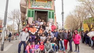 """""""De tu Paraje al Colón"""": 58 alumnos de San Luis recorrieron los íconos de Buenos Aires"""