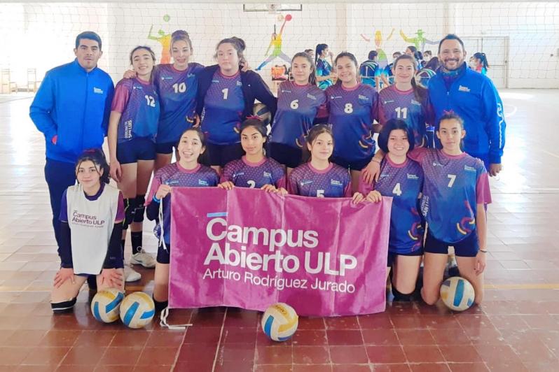 Vóley: el Campus ULP regresó a la competencia con dos triunfos