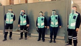 La ULP entregó 170 máscaras protectoras para el personal del Ministerio de Seguridad