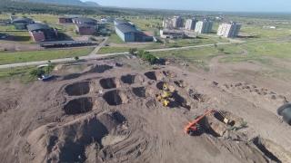Continúa la construcción de la obra más importante para el deporte provincial