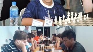 Valentín Aguilar Samper y Pablo Acosta campeones argentinos de ajedrez en Villa Martelli