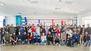 Olimpiadas policiales: el boxeo subió al ring en el Campus