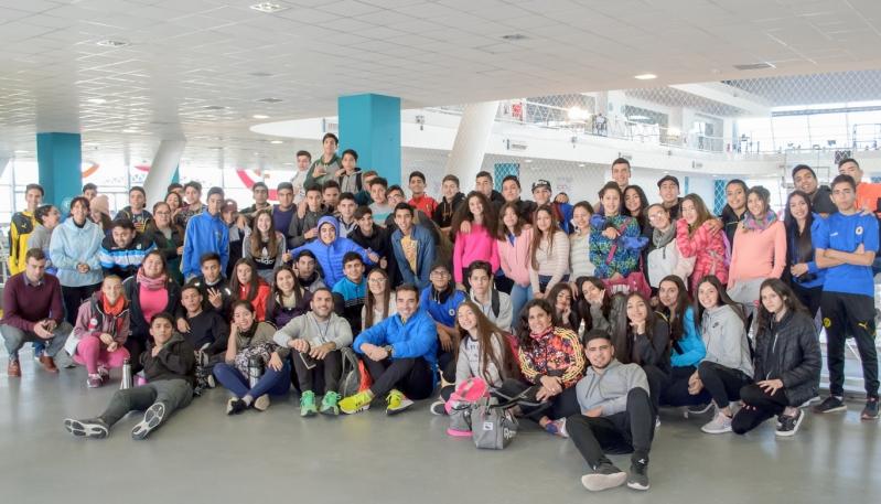 """Setenta alumnos del EPA N° 11 """"Dr. Carlos Juan Rodríguez"""" visitaron el Campus"""