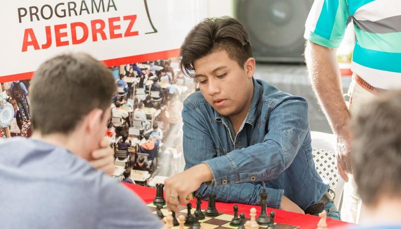 Pablo Acosta clasificó a la final del Campeonato Argentino Superior de Ajedrez