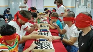 """Comenzó el """"Torneo Gran Prix Puntano de Ajedrez a Ciegas"""""""