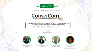 Se presentó la política de conectividad puntana en el V ConverCom