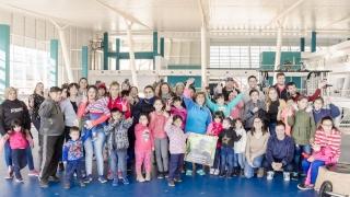 """Chicos del Barrio """"La Rinconada"""" visitaron la ULP"""