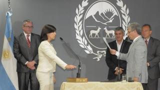 María Eugenia Gallardo asumió como vicerrectora de la ULP