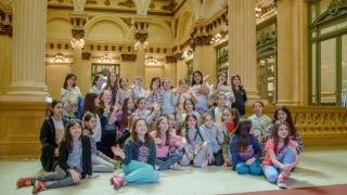 El Teatro Colón y el Congreso de la Nación cautivaron a las alumnas del Instituto Aleluya