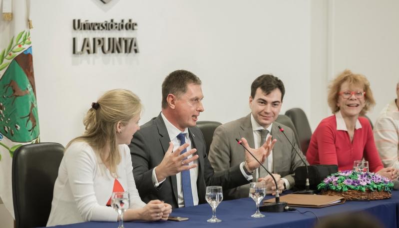 El Embajador de Rusia visitó la ULP
