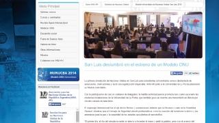 """""""San Luis deslumbró en el estreno de un Modelo ONU"""""""