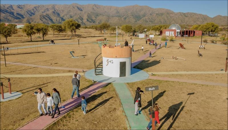 El Parque Astronómico atrapó la atención de miles de turistas y sanluiseños